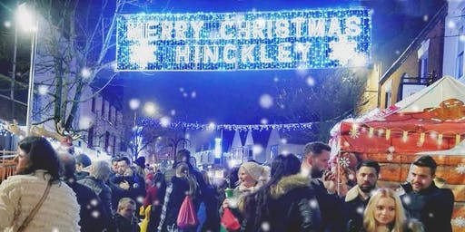 Hinckley's Christmas Lights Switch On
