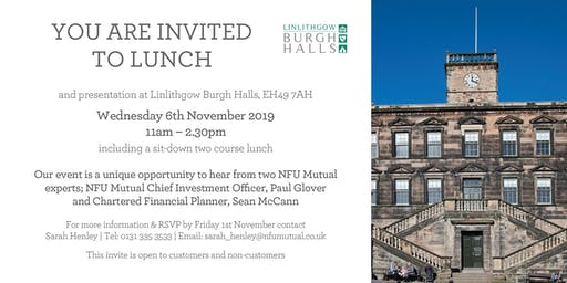 NFU Mutual Chief Investment Manager Presentation and Lunch