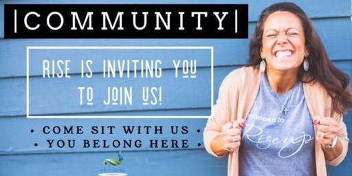 COMMUNITY // Come sit with us