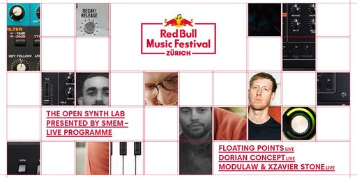 Red Bull Music Festival Zürich: Floating Points Live / Dorian Concept &more