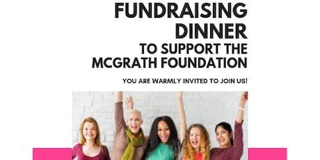 McGrath Foundation Fundraiser Dinner tickets