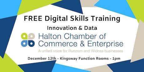 FREE Digital Skills Training - Innovation & Data tickets