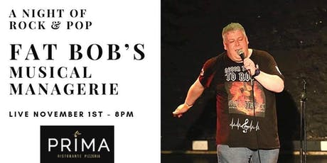 Fat Bob's musical managerie tickets