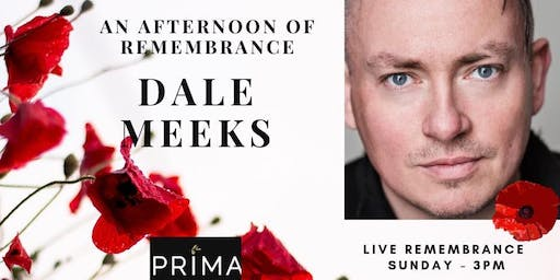 Remembrance Day with Dale Meeks.