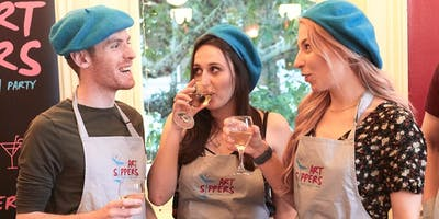 ART SIPPERS - Paint & Sip Experience - KINGSTON