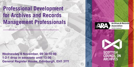 Professional Development for Archives and Records Management Professionals tickets
