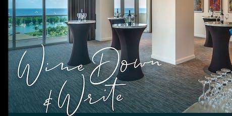 Wine Down and Write @ Arya tickets
