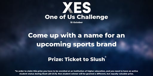 One of Us Challenge - Find a name for an upcoming sports brand