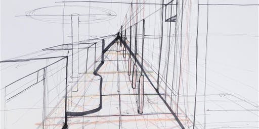 Build drawing skills: freehand perspective – 1 point