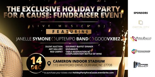 Exclusive Holiday Party For A Cause: Fundraiser Event