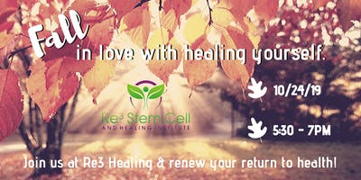 FALL in love with healing yourself