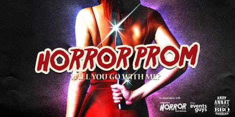 Horror Prom Halloween Party - 1st November tickets