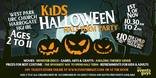 Kids Half Term Halloween Party - Friday 1st November