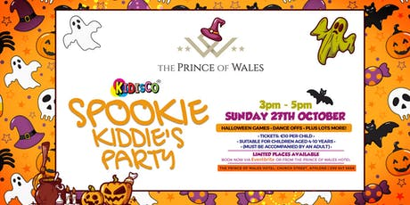 Spooky Kids Party @ The Prince of Wales Hotel tickets