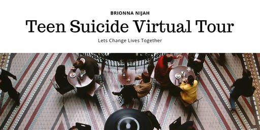 Looking for Participants for a Virtual Book Tour (Teen Suicide Prevention)