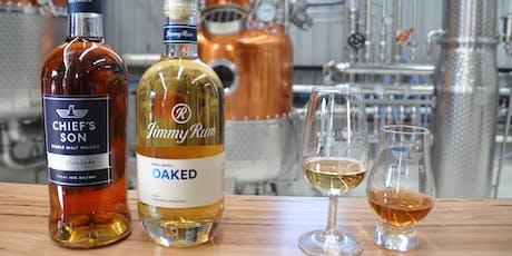 Whisky vs Rum Masterclass tickets