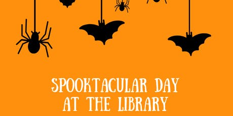 Spooktacular Day at the Library tickets