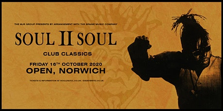 Soul II Soul - Club Classics  (Open, Norwich) tickets