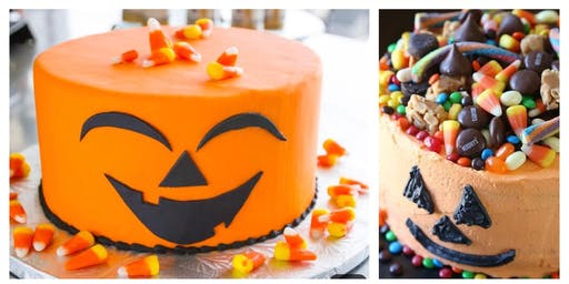 Calling all GHOULS & BOYS: It's the KIDS Halloween  Cake Workshop!