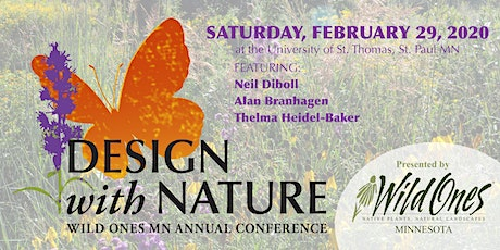Wild Ones 2020 Design With Nature Conference tickets