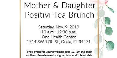 MOTHER & DAUGHTER POSITIVI-TEA BRUNCH