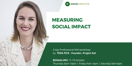 Open Session: Measuring Social Impact tickets