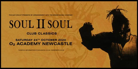Soul II Soul - Club Classics( O2 Academy, Newcastle) tickets