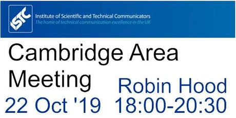 ISTC Cambridge Area Meeting tickets