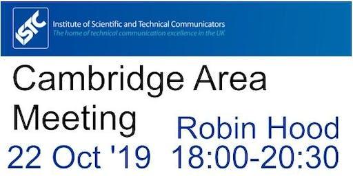 ISTC Cambridge Area Meeting