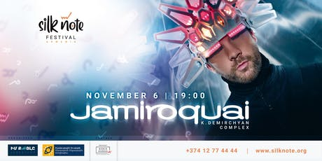 Jamiroquai in Armenia tickets