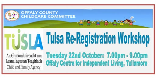 Tulsa Re-Registration Workshop