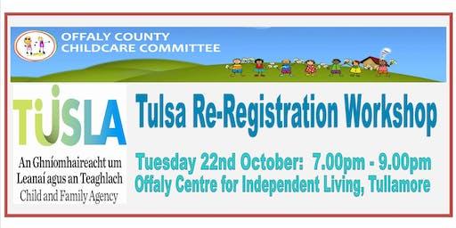 Tulsa Re-Registration Workshop