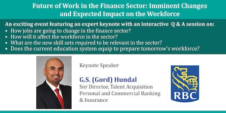 Future of Work in the Finance Sector: Imminent Changes and Impact tickets