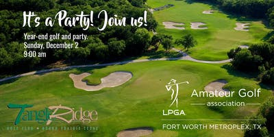 Year End Celebration   Golf and Party!