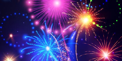 Fireworks Display at St Ives School: Family Friendly