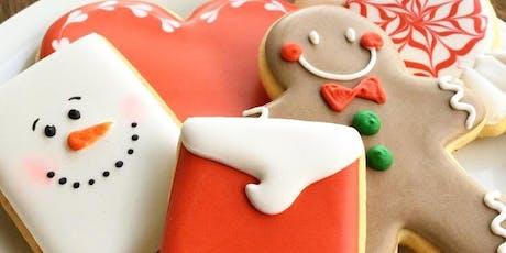 Aula de Biscoitos Decorados para Iniciantes - Natal/ turma extra ingressos