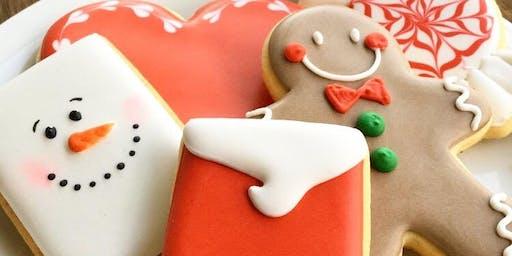Aula de Biscoitos Decorados para Iniciantes - Natal/ turma extra