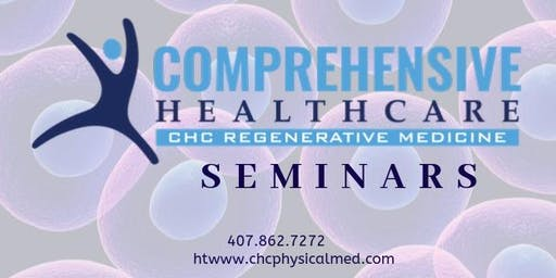 Free Regenerative Medicine Seminar for Joint Pain