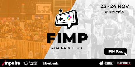 FIMP 2019 - Inscripciones Torneos eSports entradas