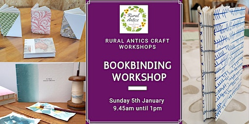 Handmade Bookbinding Workshop