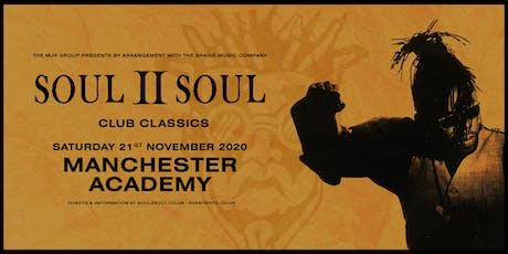 Soul II Soul - Club Classics Academy 1, Manchester) tickets