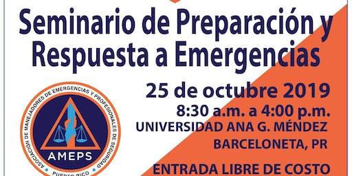 Seminario de Preparación y Respuestas a Emergencias