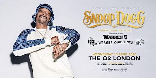 "Snoop Dogg - ""I Wanna Thank Me"" Tour (The O2, London)"