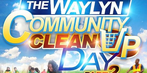 Waylyn Community Clean up part 2
