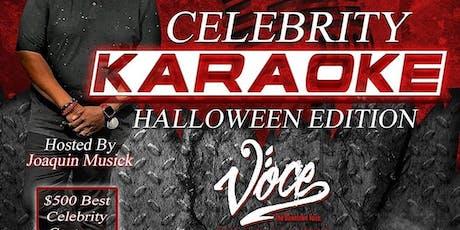 Celebrity Karaoke Halloween Edition tickets