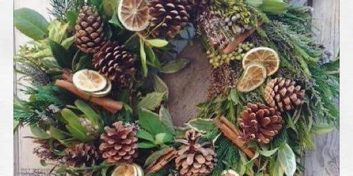 Wreath Making Workshop 4th December - Ashley, Cheshire