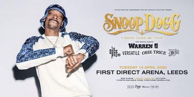 """Snoop Dogg - """"I Wanna Thank Me"""" Tour (First Direct Arena, Leeds)"""