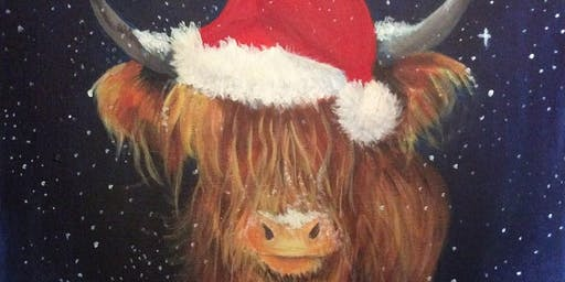 Festive Coo' Paint n Sip with @blaeberryriverart