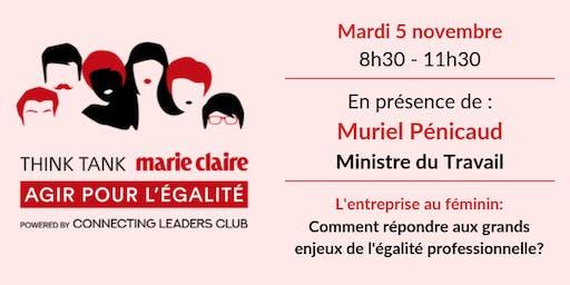 Think Tank Marie Claire Agir pour l'Egalité | L'Entreprise au féminin