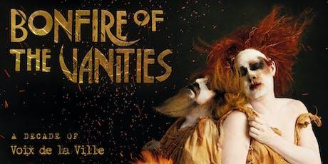Bonfire of the Vanities tickets